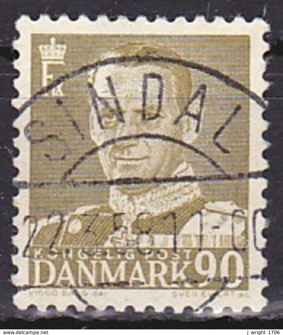Denmark/1953 - AFA 342 - 90 ø - USED/'SINDAL' - Denmark