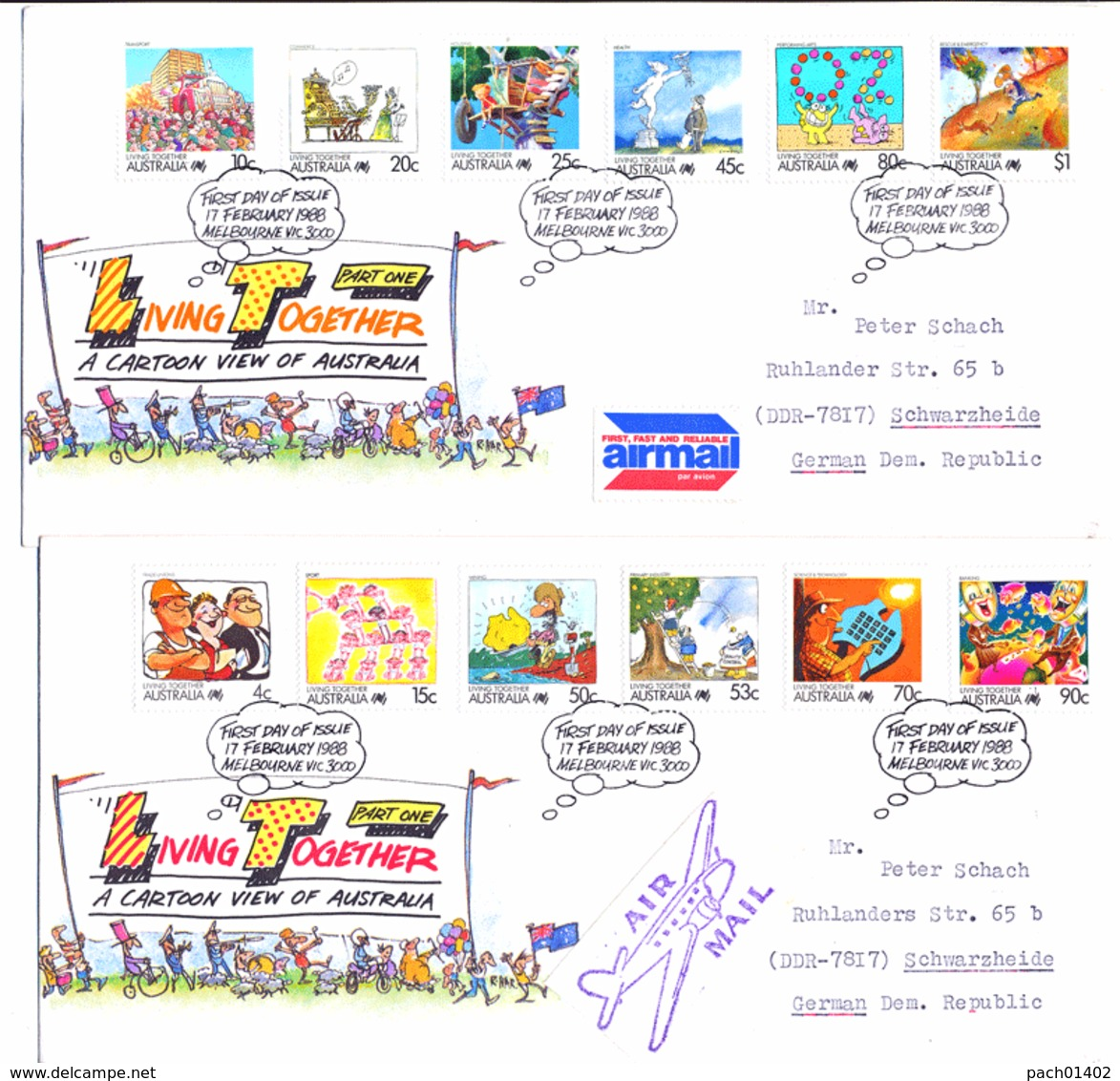 FDC  1080 - 92 - Premiers Jours (FDC)