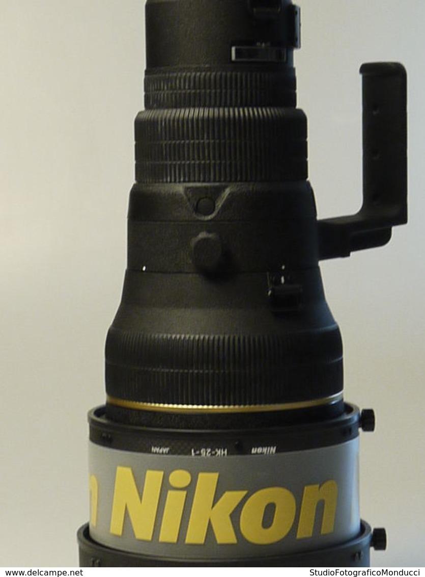 NIKON LENTE OBIETTIVO LENS NIKKOR NITAL AF-S 400 Mm F/ 2.8 D IF ED TRUNK CASE CT-402 HOODS EX+ - Linsen