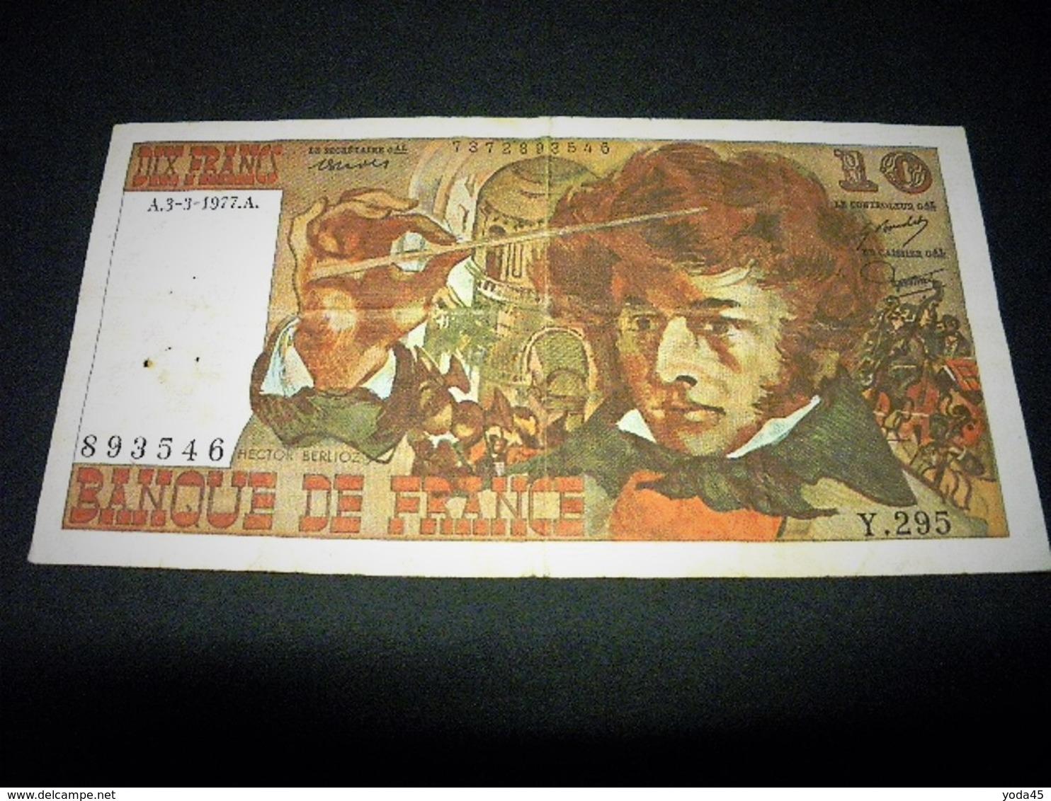 FRANCE 10 Francs 03/03/1977 , Pick N° 150 C ,fayette N°21, FRANCIA ,FRANKREICH - 1962-1997 ''Francs''