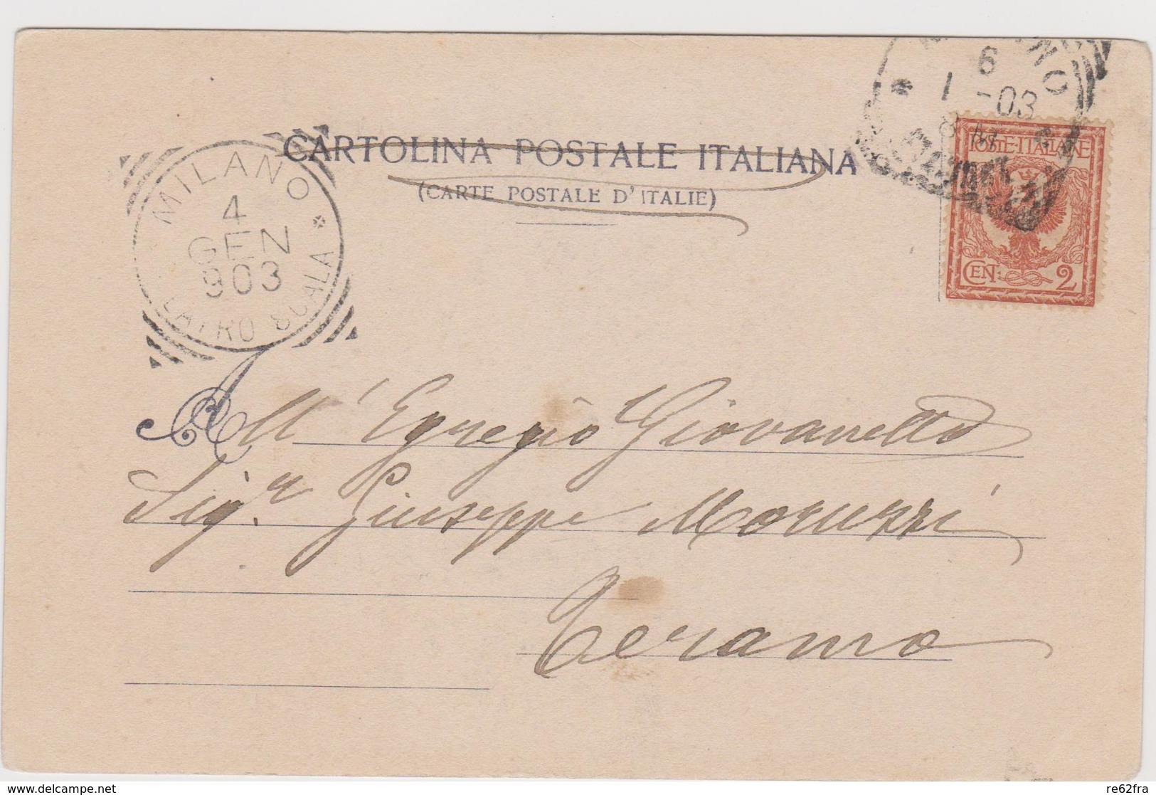 Teatro La Scala 1902-1903, La Dannazione Di Faust (Berlioz), Illustrata Da A.Terzi, Scena 1 - F.p. - 1903 - Opera