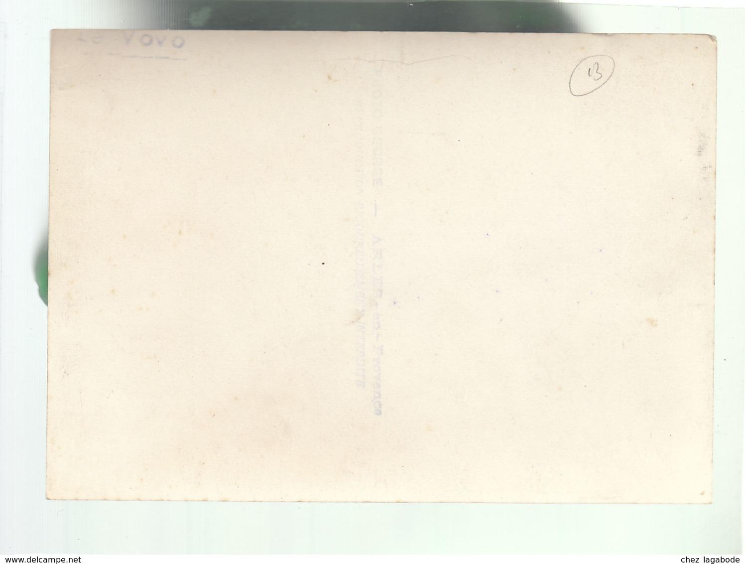 CP (13) Taureau - Le Vovo - Carte Photo Georges - Arles - Non Classés