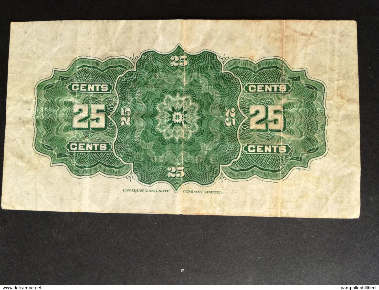 25 Cents Papier 1923 - Canada