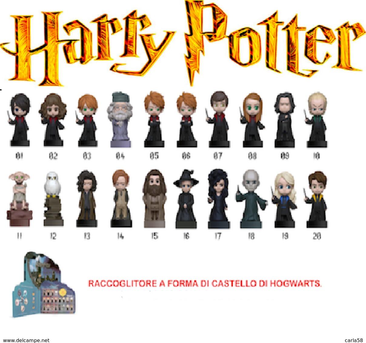 WIZZIS ESSELUNGA Harry Potter - Kinder & Diddl