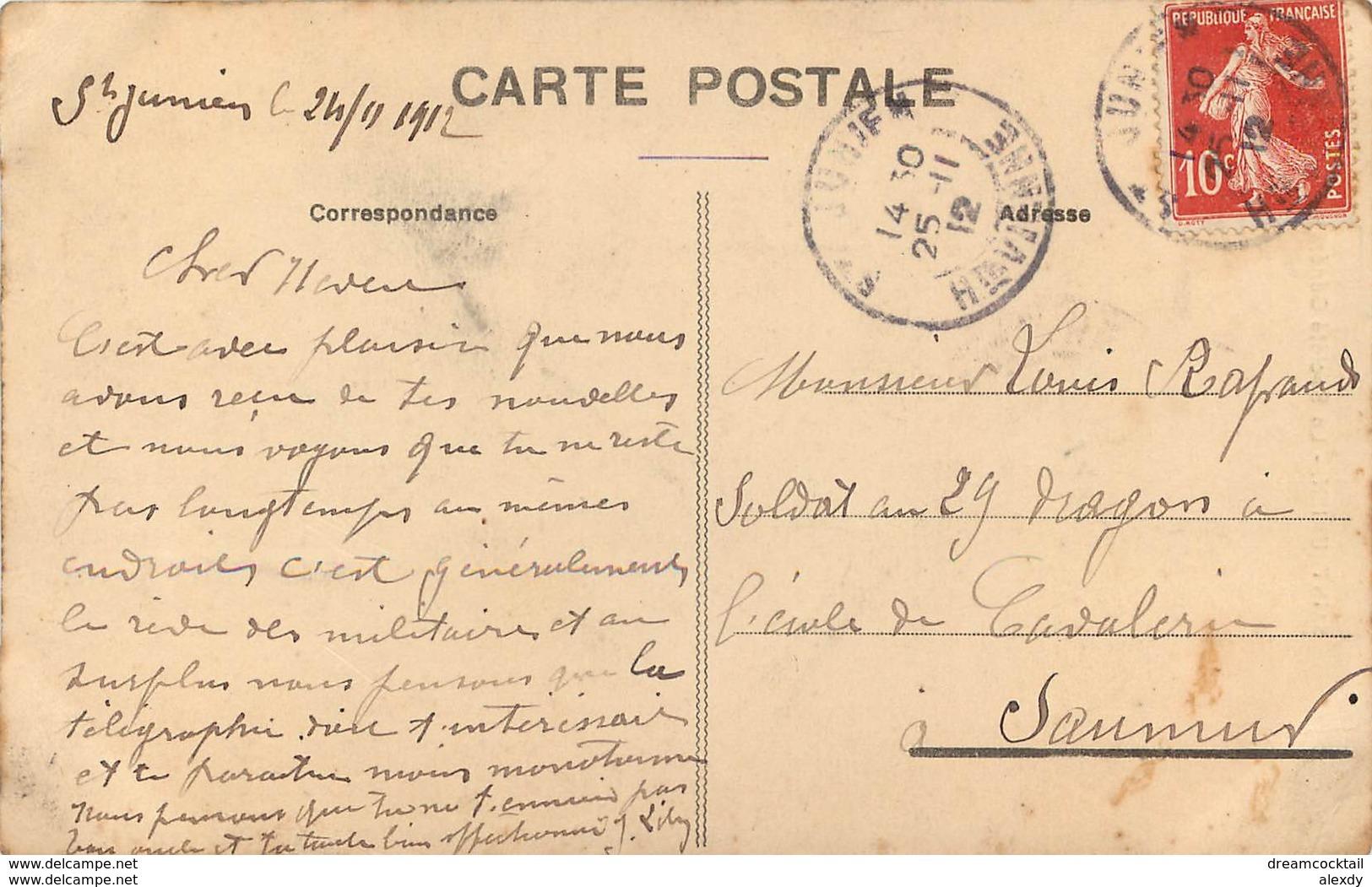 87 SAINT-JUNIEN. Banque Société Générale 1912 - Saint Junien