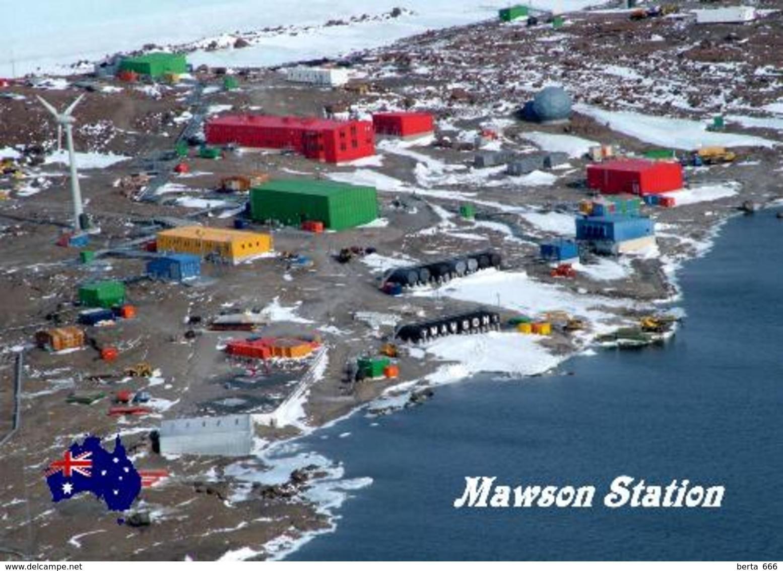 Antarctica Mawson Sation Australia New Postcard Antarktis AK - Ansichtskarten