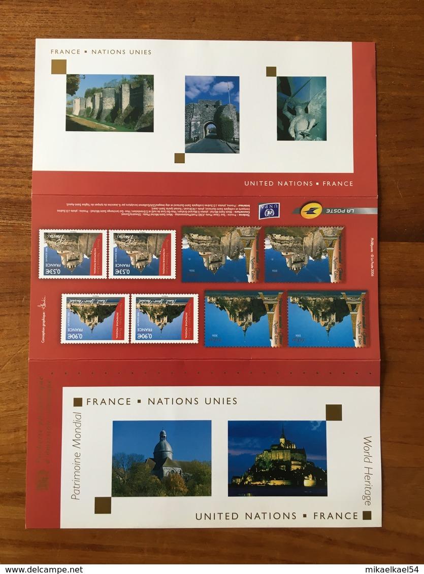 Pochette Philatélique D'émission Commune FRANCE-NATIONS UNIES - 2006 - Neuf - Blocs Souvenir