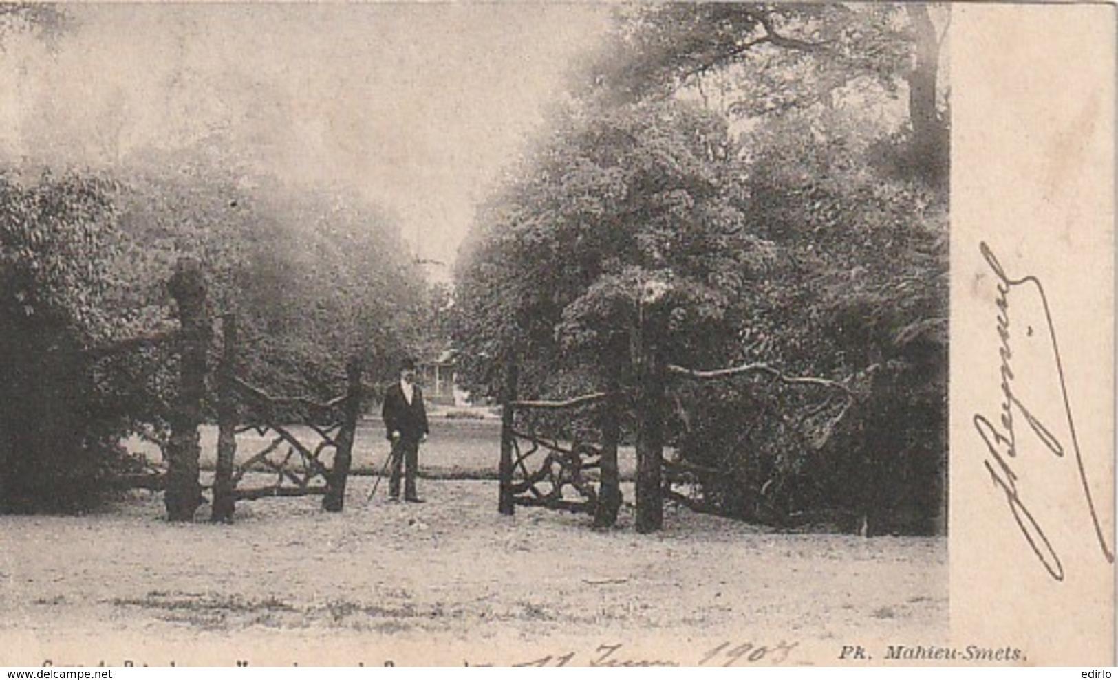 ***  Camp De Beverloo Vue Prise Sur Le Parc Royal - TB Timbrée - - Leopoldsburg (Kamp Van Beverloo)