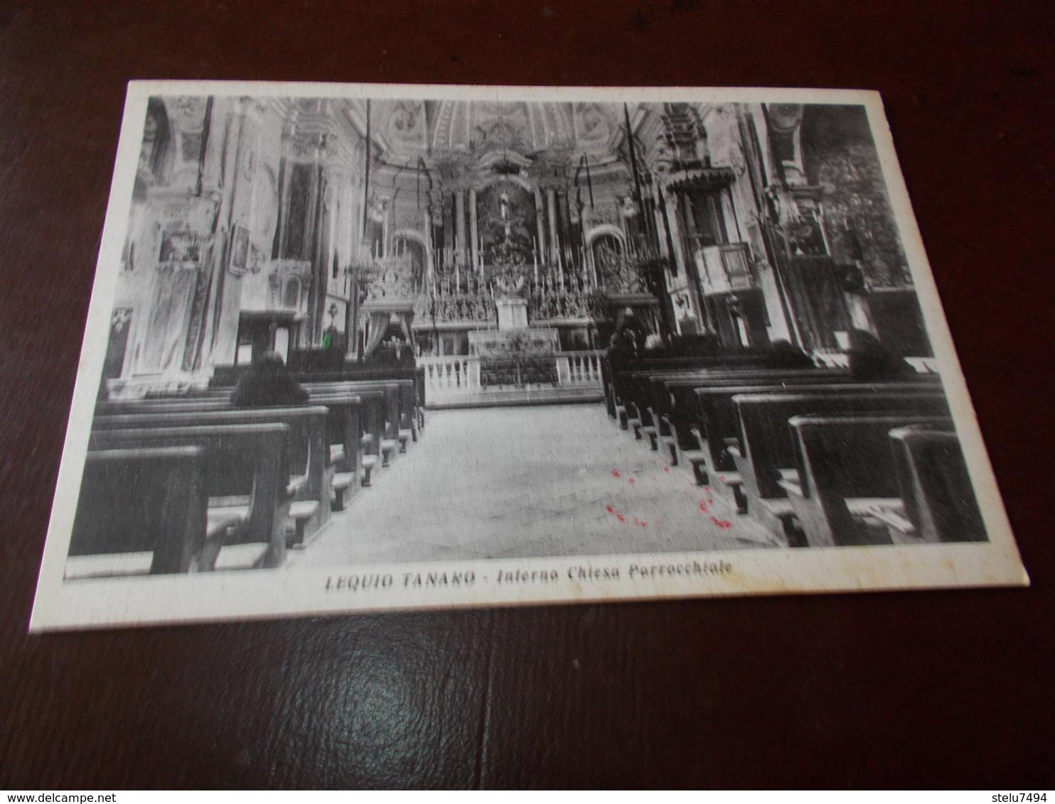 B733  Lequio Tanaro Cuneo Chiesa Non Viaggiata - Italia