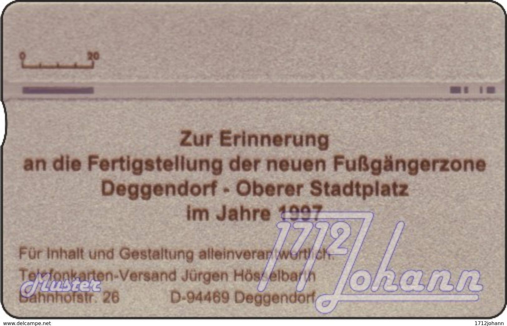 """TWK Österreich Privat: """"Deggendorf - Fussgängerzone"""" Gebr. - Autriche"""