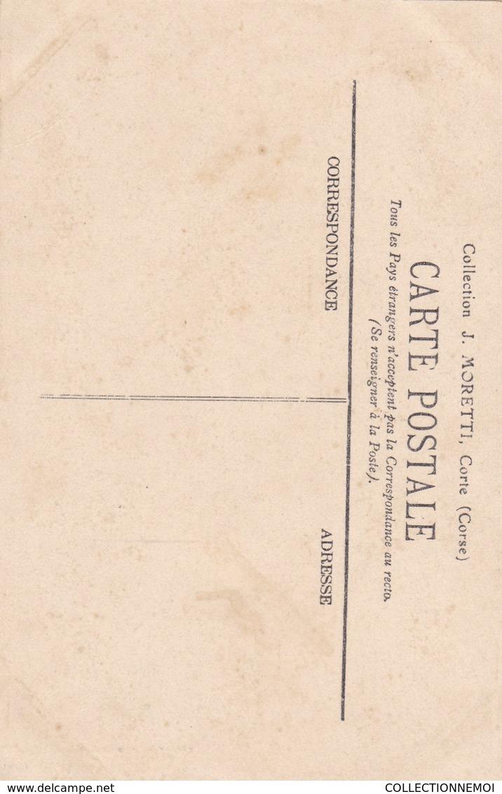"""CORSE , Lot De 2 Cartes Dont """""""" GHISONI """"""""   !!!   ATTENTION Bon état Mais DECOLLEES !!!!!((lot 316)) - Autres Communes"""
