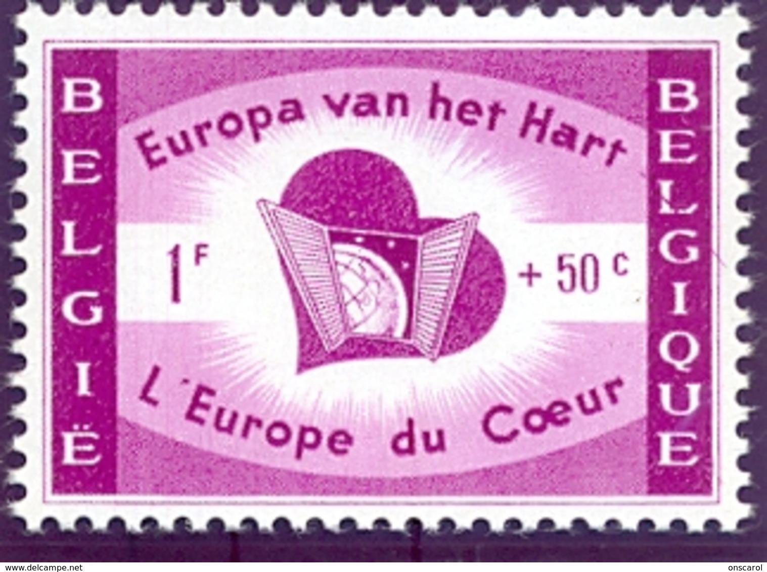 Nr. 1090-V2 ** Belgique Doorstreept - Variétés Et Curiosités