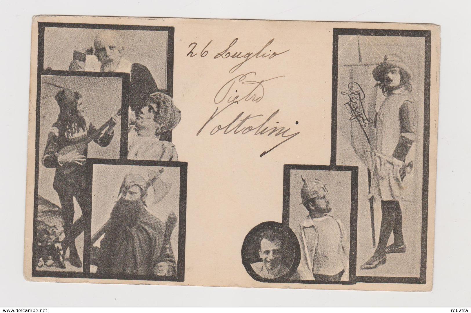 Tournee Di Leopoldo Fregoli, Trasformista, Attore, Regista E Sceneggiatore Italiano - F.p. - 1900 - Artisti