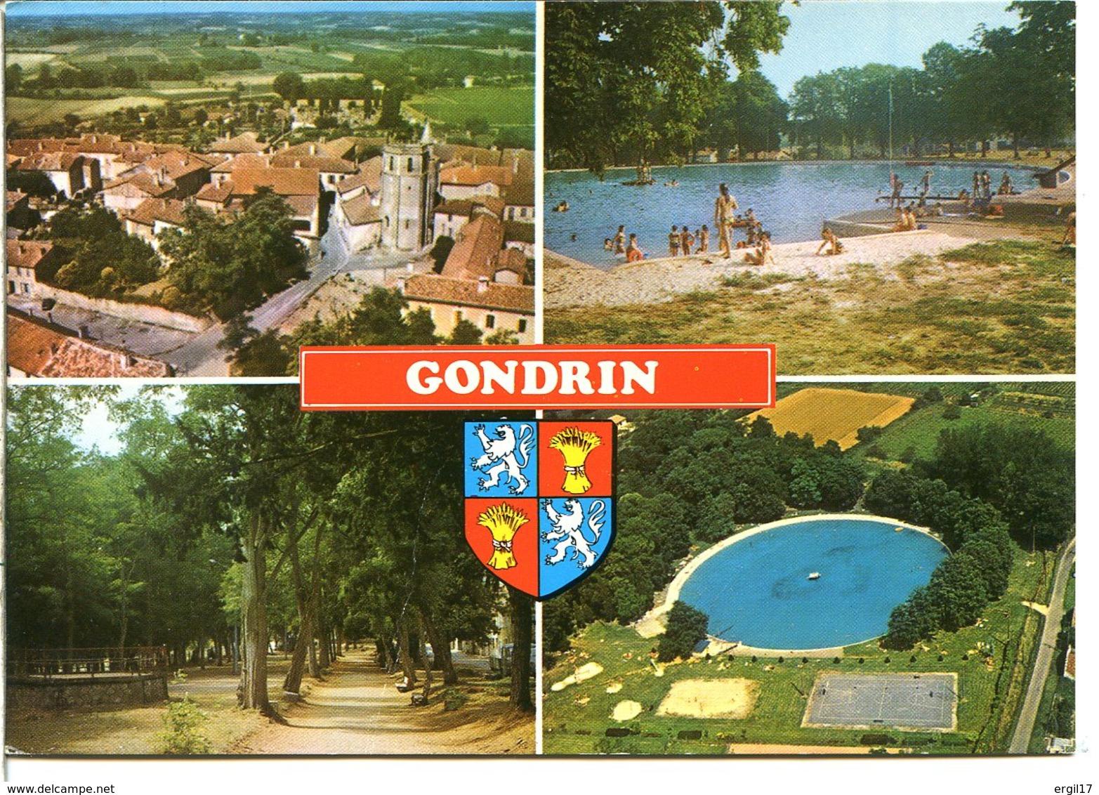 32330 GONDRIN - Lot De 2 CPM - Voir Détails Dans La Description - France