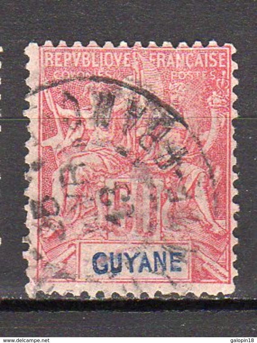 Guyane Yvert N° 40 Oblitéré Lot 5-84 - Frans-Guyana (1886-1949)