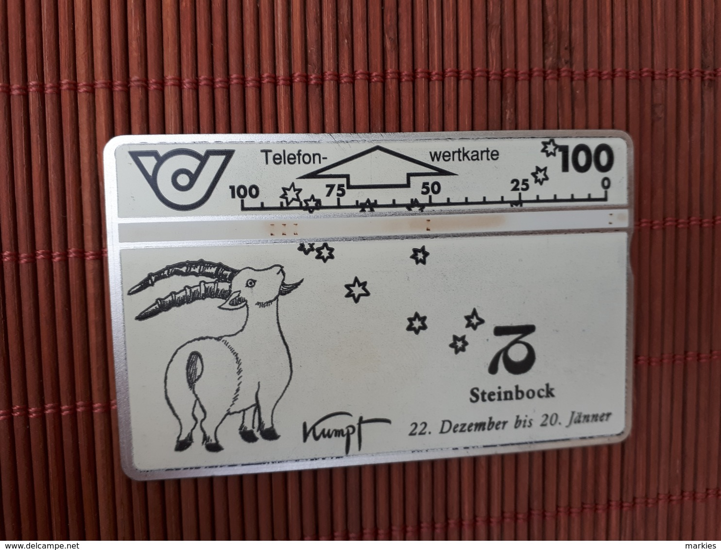 Phonecard Horoscope Zodiac - Dierenriem