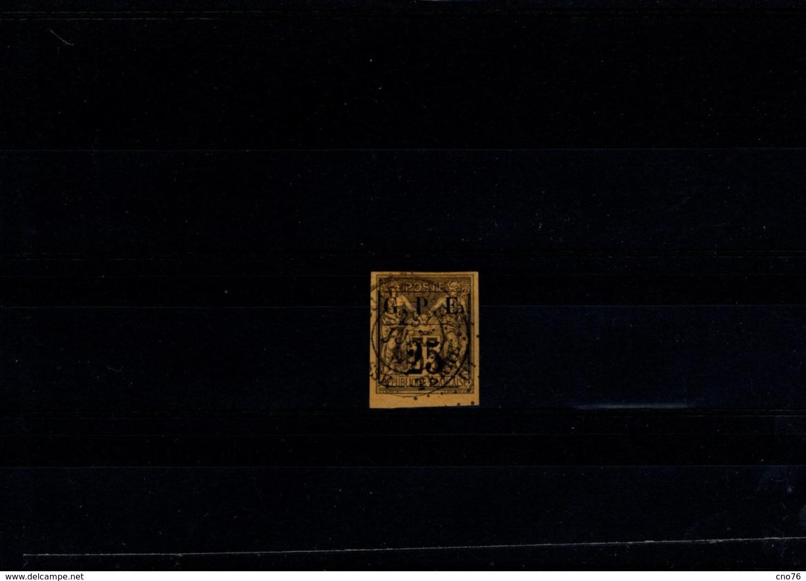 Guadeloupe N° 2 Timbre Oblitéré - Guadeloupe (1884-1947)