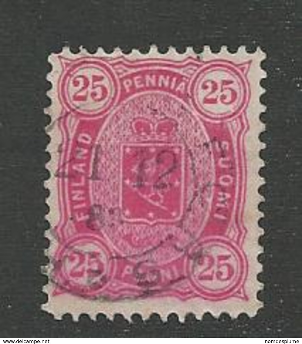 23873 ) Finland 1881 - Gebruikt