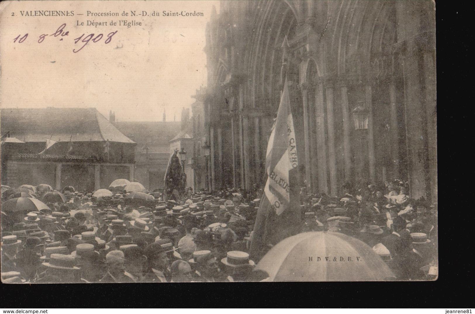 VALENCIENNES/066.....PROCESSION - Valenciennes