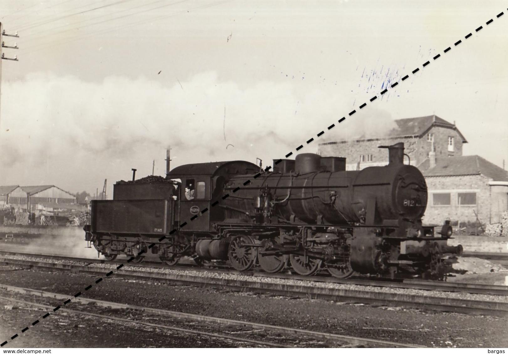 Photo SNCB NMBS Chemins De Fer Belges Train Locomotive à Bastogne Par R Temmerman - Eisenbahnen
