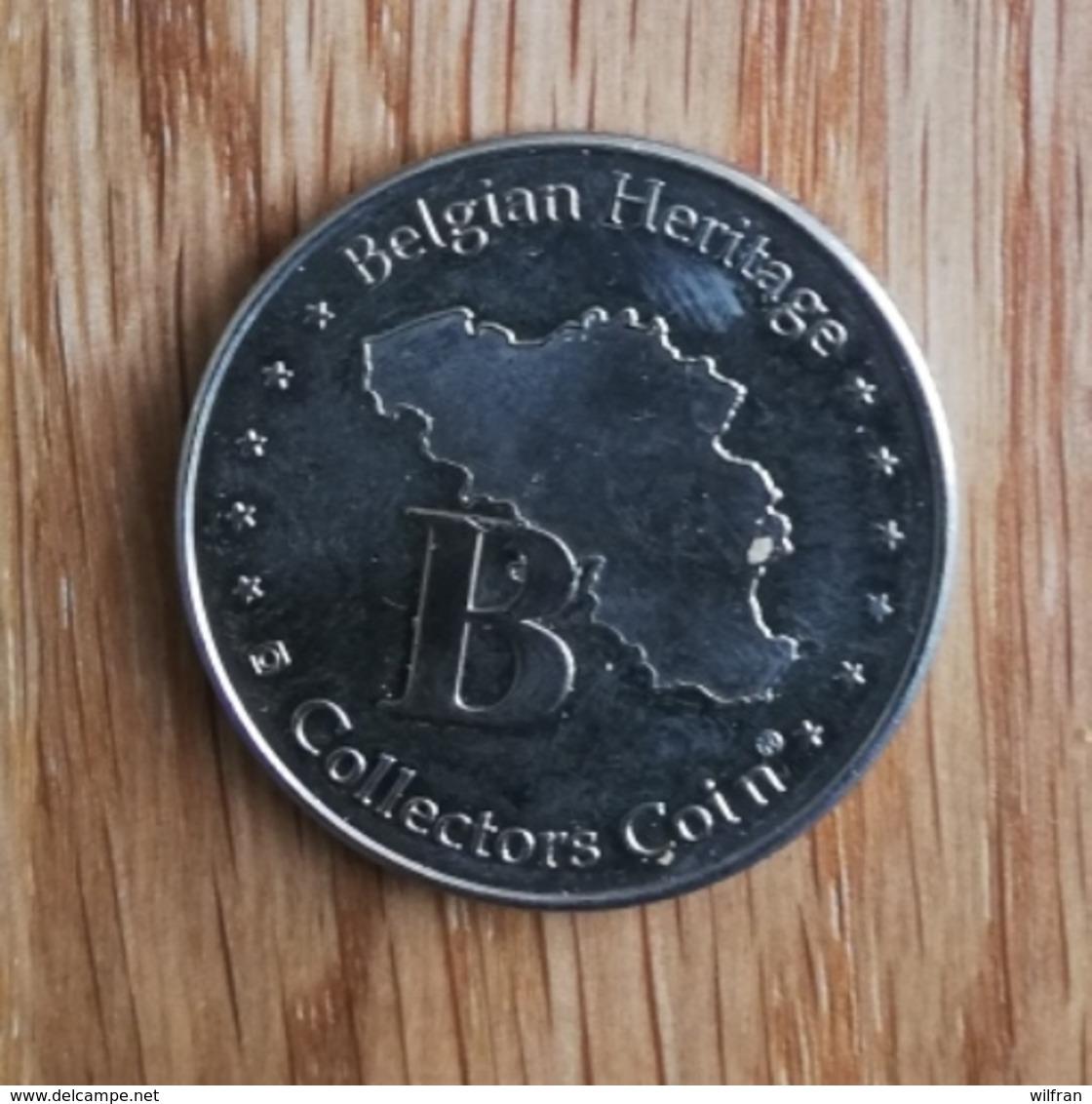 3244 Vz Citadelle Dinant - Kz Belgian Heritage Collectors Coin - België