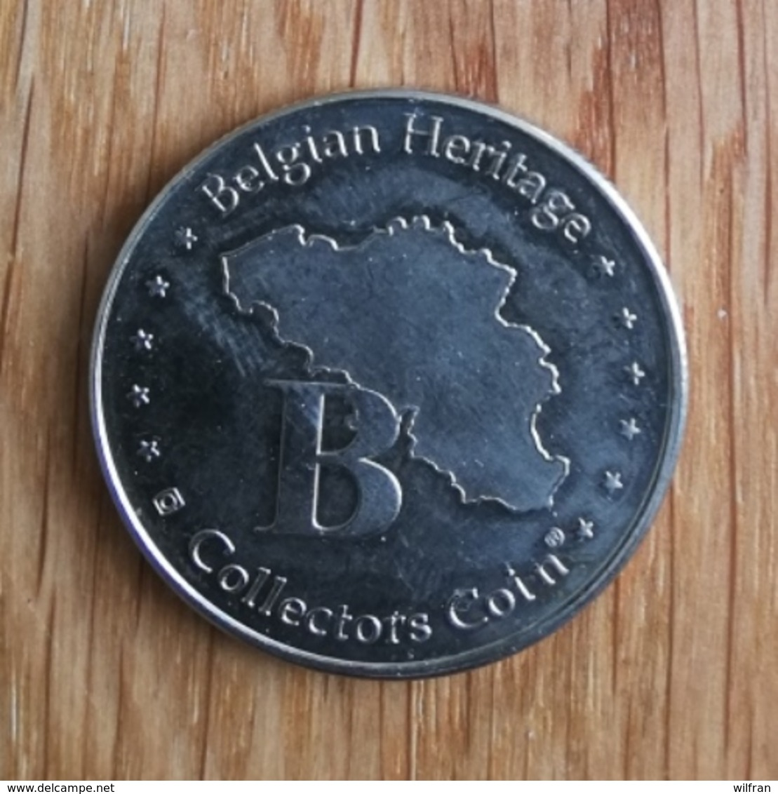 3249 Vz Nello & Patrasche - Kz Belgian Heritage Collectors Coin - België