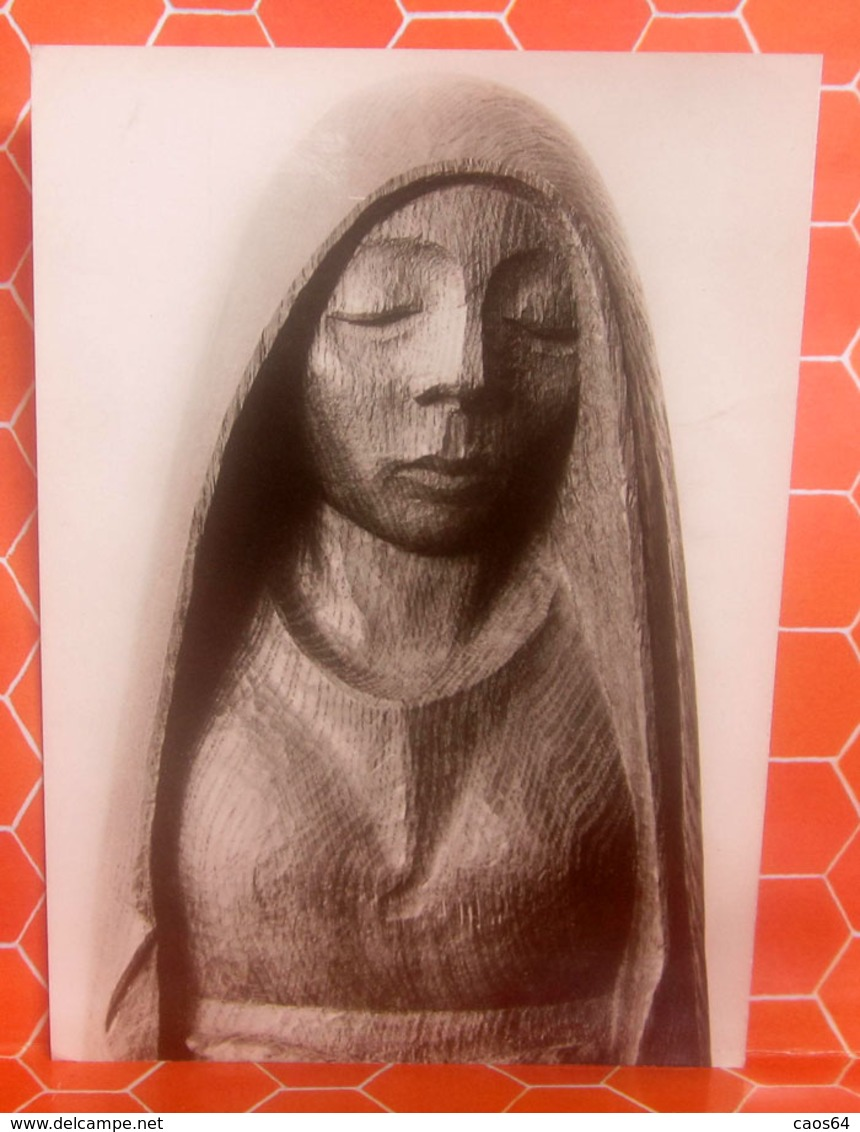 Ernst Barlach - Der Träumende Scultura CARTOLINA - Sculptures