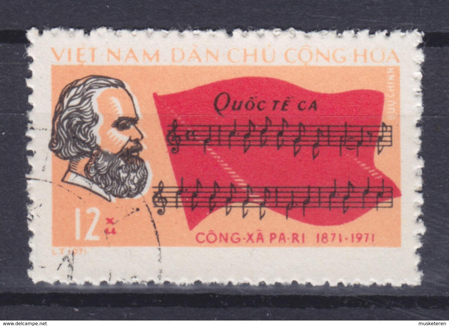 Vietnam 1971 Mi. 657    12 Xu Pariser Kommune Karl Marx, Deutscher Philosoph - Vietnam