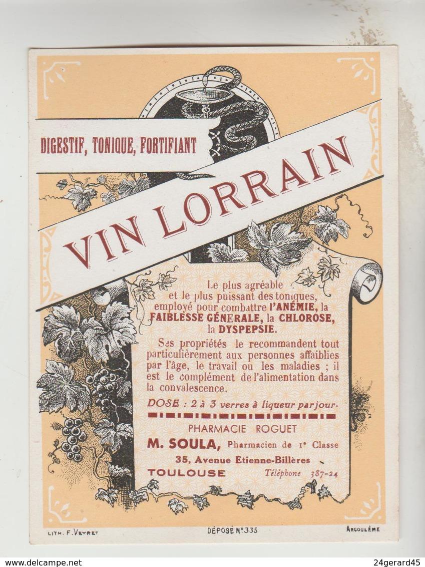 3 ETIQUETTES OENOPHILIE PUBLICITE VIN ALCOOL - Whisky GRANT'S, MACKENZIE, Apéritif VIN LORRAIN - Whisky