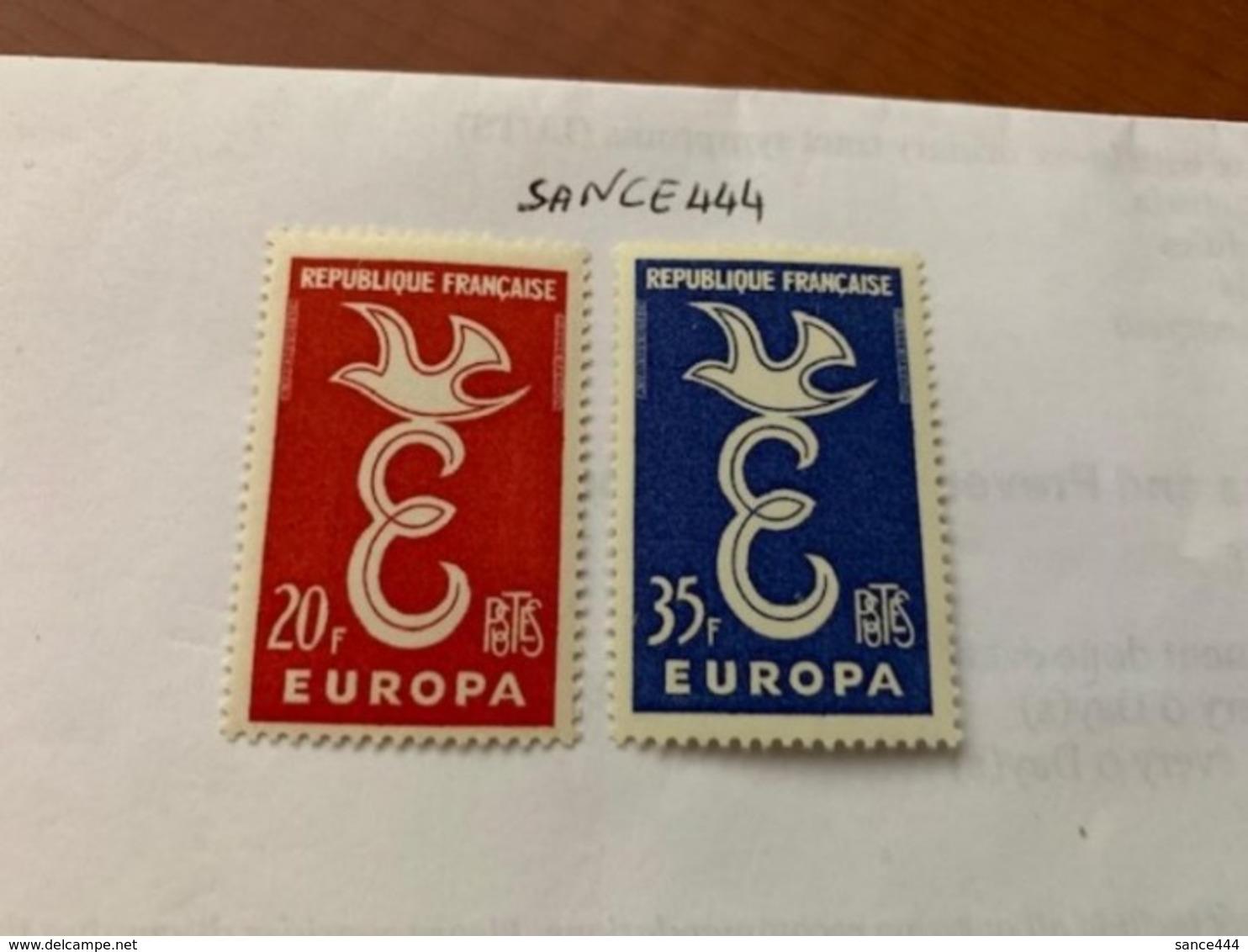 France Europa 1958  Mnh #ab - Europa-CEPT