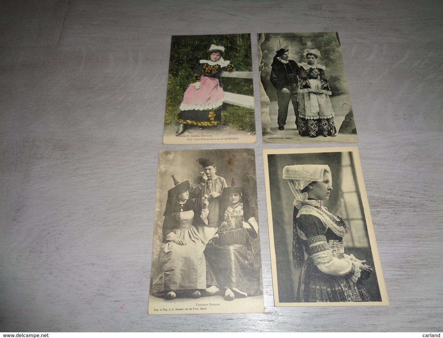 Beau Lot De 20 Cartes Postales De France  Folklore     Mooi Lot Van 20 Postkaarten Van Frankrijk Folklore - 20 Scans - Cartes Postales