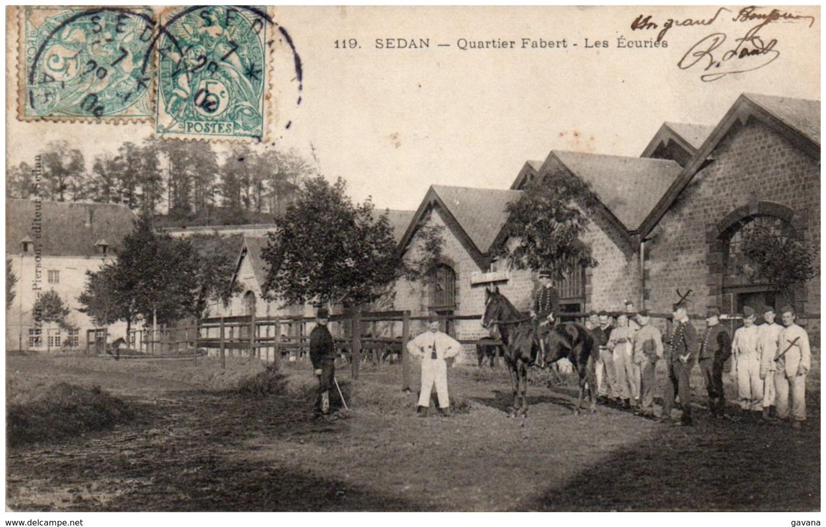 08 SEDAN - Quartier Fabert - Les écuries - Sedan