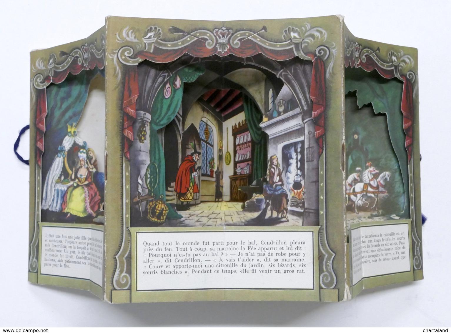 Libro Pop-up - Cendrillon Illustrè Par Roland Pym - A Peepshow Book - 1950 Ca. - Libros, Revistas, Cómics