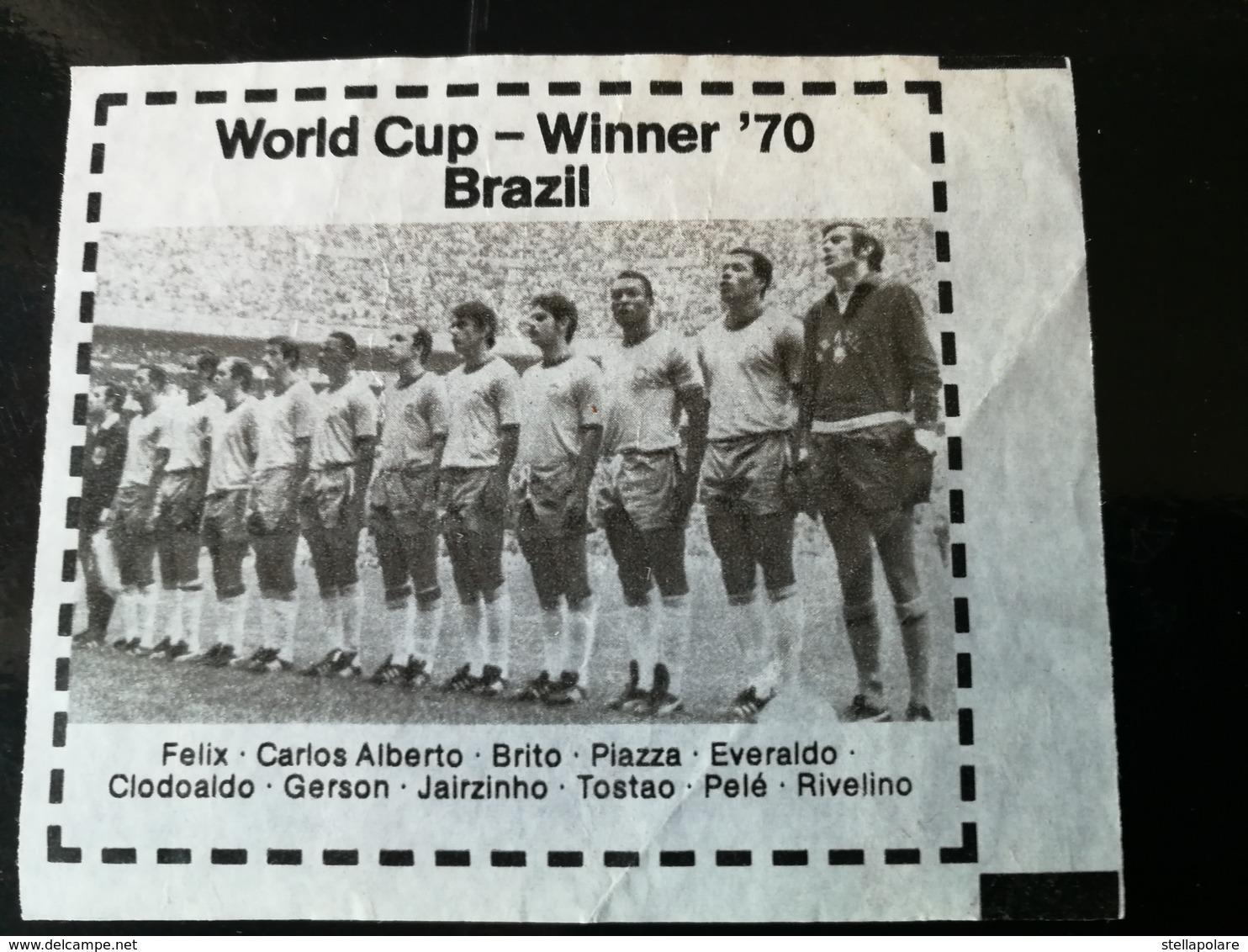KAUGUMMI OK Bubbler World Cup Winner 1978 - BRASIL 1970 RIMET CUP WINNER - Süsswaren