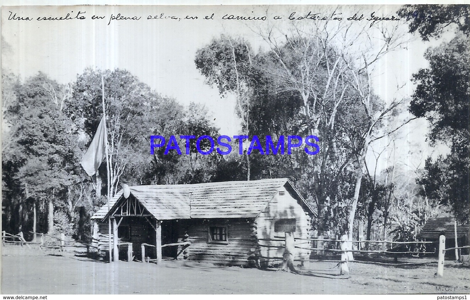118462 ARGENTINA MISIONES CATARATAS DEL IGUAZU PARQUES NACIONALES ESCUELITA 16.5 X 10 CM PHOTO NO POSTCARD - Fotografie