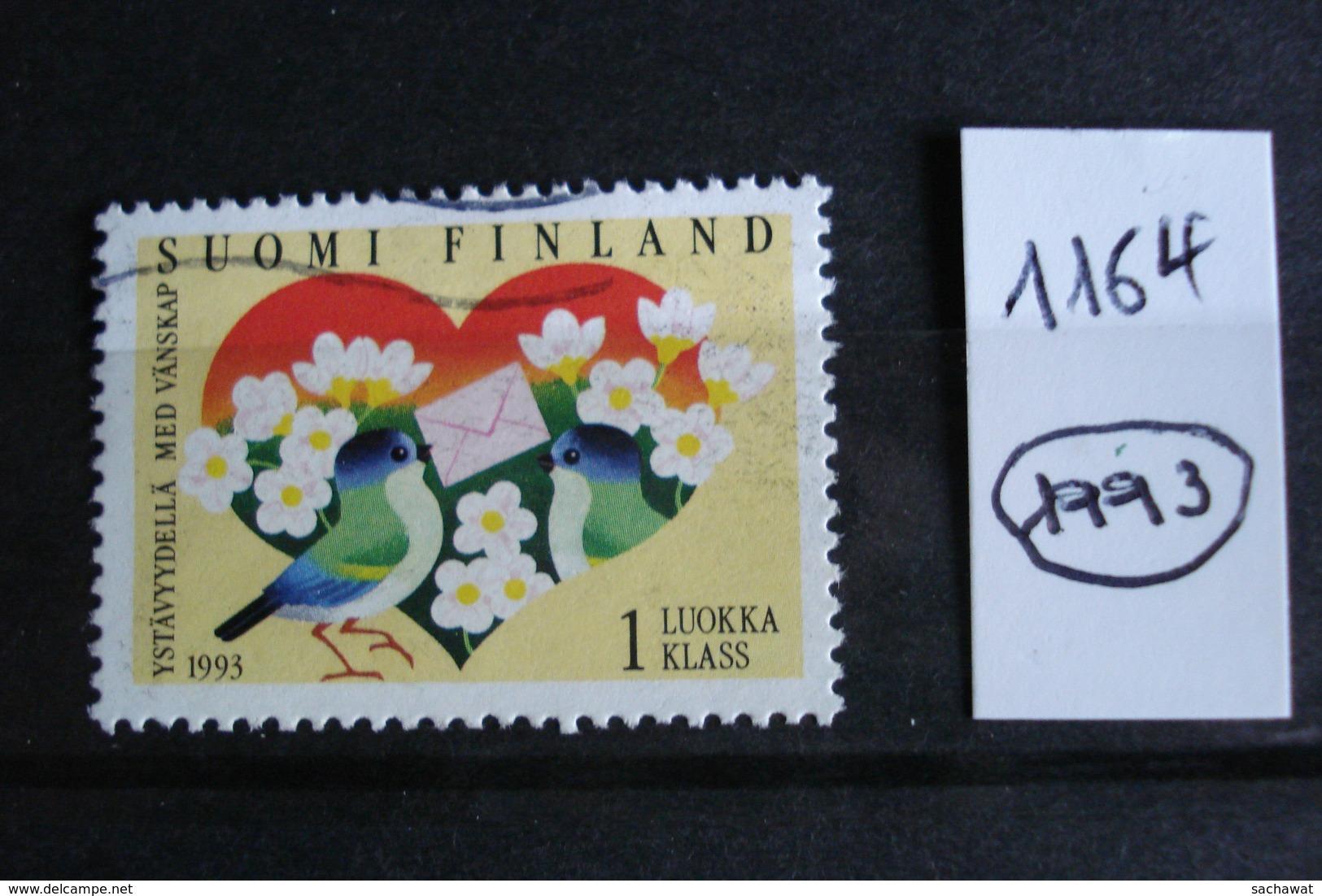Finlande - Année 1993 - Amitié Finno-estonienne - Y.T. 1164 - Oblitéré - Used - Gestempeld - Finnland