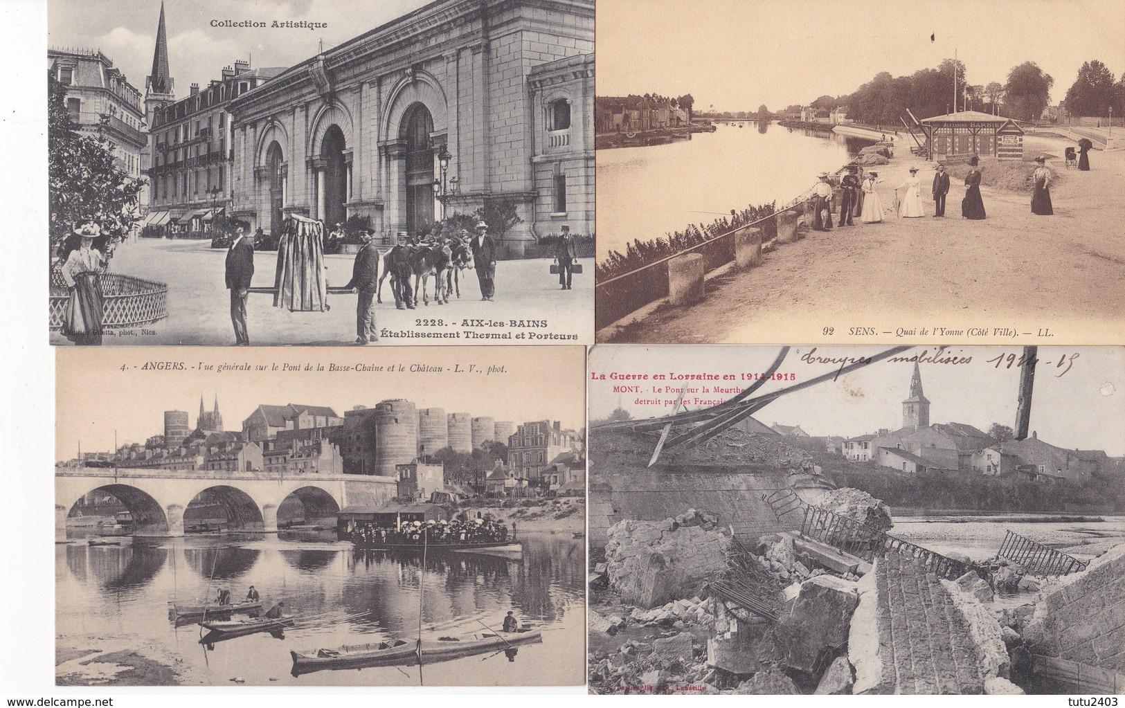 LOT PROPRE DE 300 Cpas                   Paysage Architecture Animation PAS DE PARIS FANTAISIES MILITAIRE - Ansichtskarten