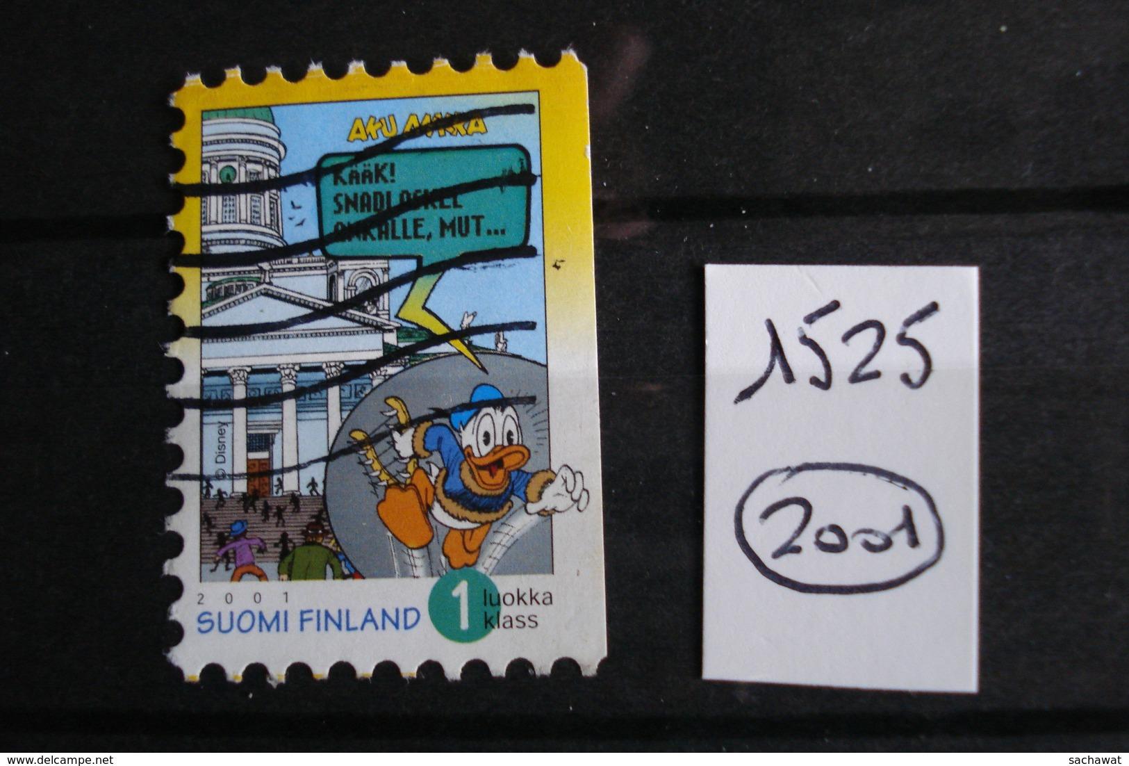 Finlande - Année 2001 - Magazine Aku Ankla - Y.T. 1525 - Oblitéré - Used - Gestempeld - Gebraucht