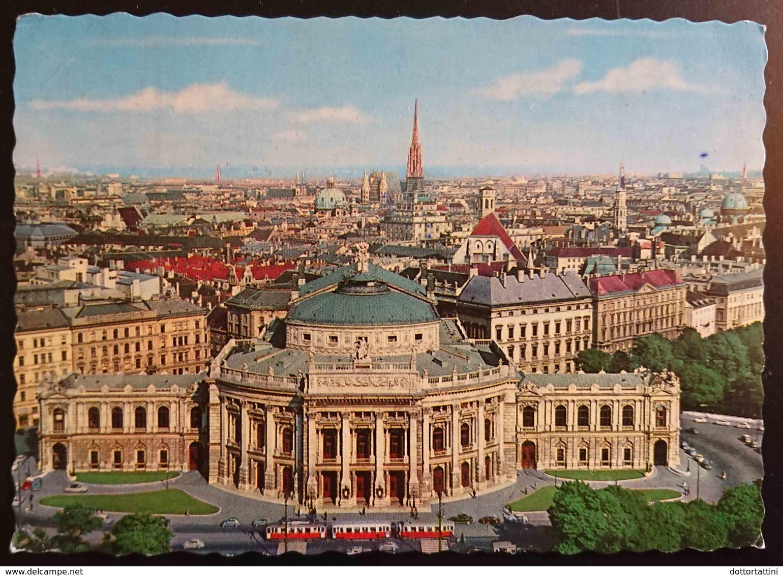 WIEN - Burgtheater - Opera - Imperial Theater - Theatre, Tram -  Vg A2 - Wien Mitte