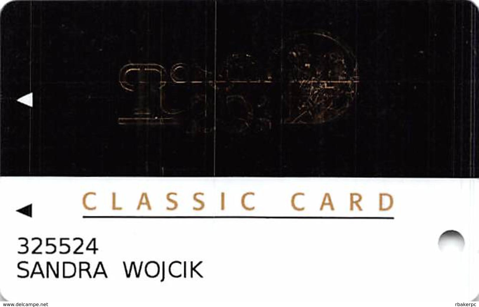 Presque Isle Downs & Casino - Erie, PA - Classic Card - Casino Slot Card - Casino Cards
