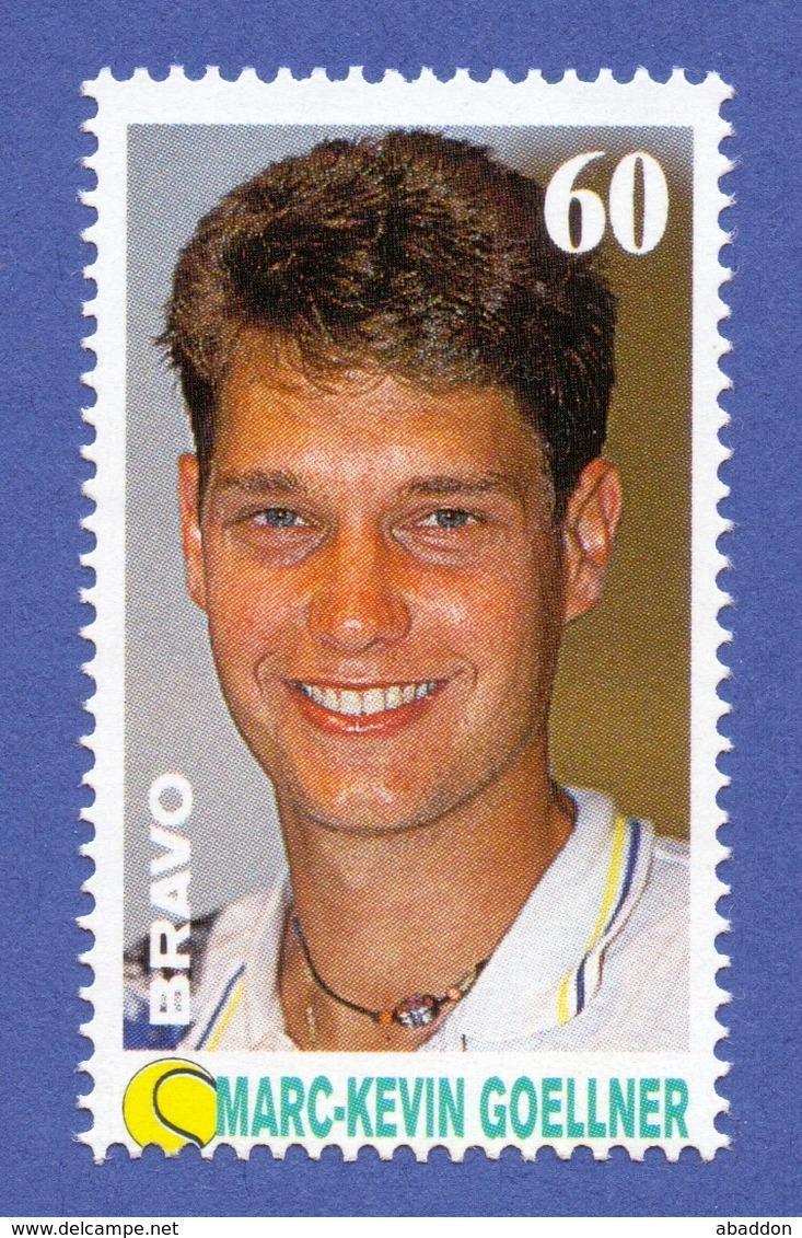 400 Vignette BRAVO-STAR-MARKE - 09.09.93 Ausgabe 37 --  Tennis, Marc-Kevin Goellner - Vignetten (Erinnophilie)