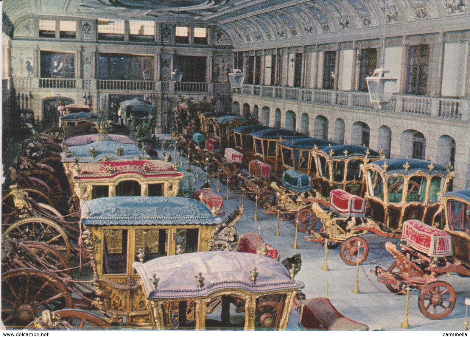 Cartoline Trasporti-carozze-museo Nazionale Di Carrozze Lisbona - Cartoline