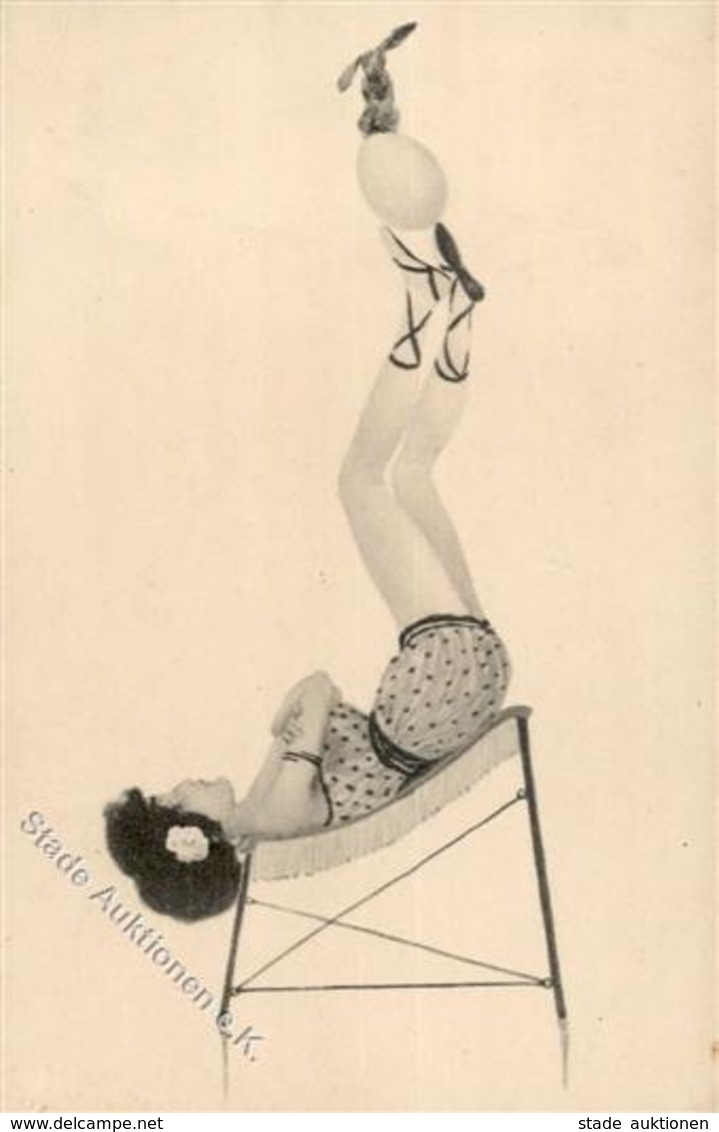 Kirchner, R. Frau Ei Hase  Künstlerkarte I-II - Kirchner, Raphael