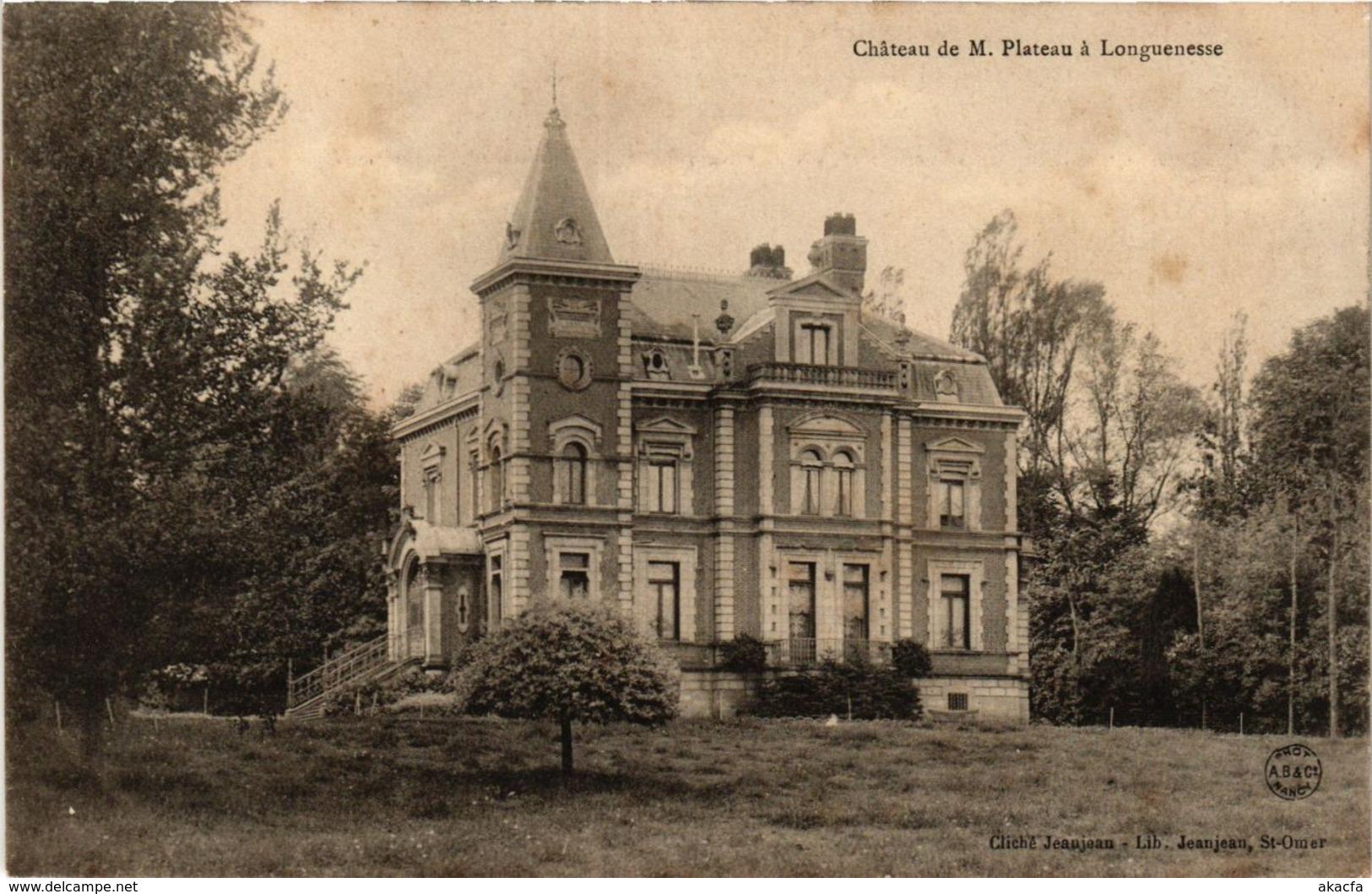 CPA LONGUENESSE Chateau De M. Plateau (413975) - Longuenesse