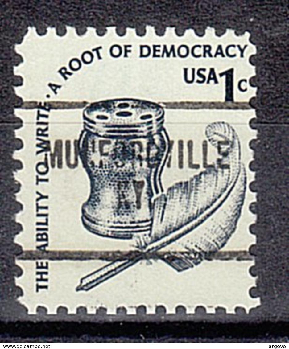 USA Precancel Vorausentwertung Preo, Locals Kentucky, Munfordville 704 - Vereinigte Staaten