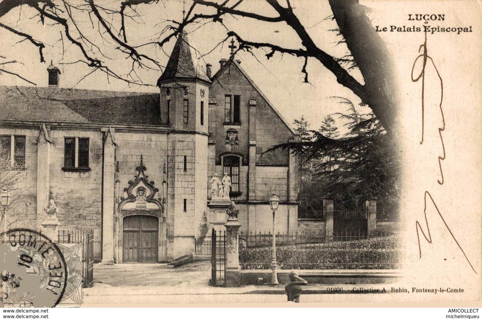4843  -2019     LUCON   LE PALAIS EPISCOPAL - Lucon