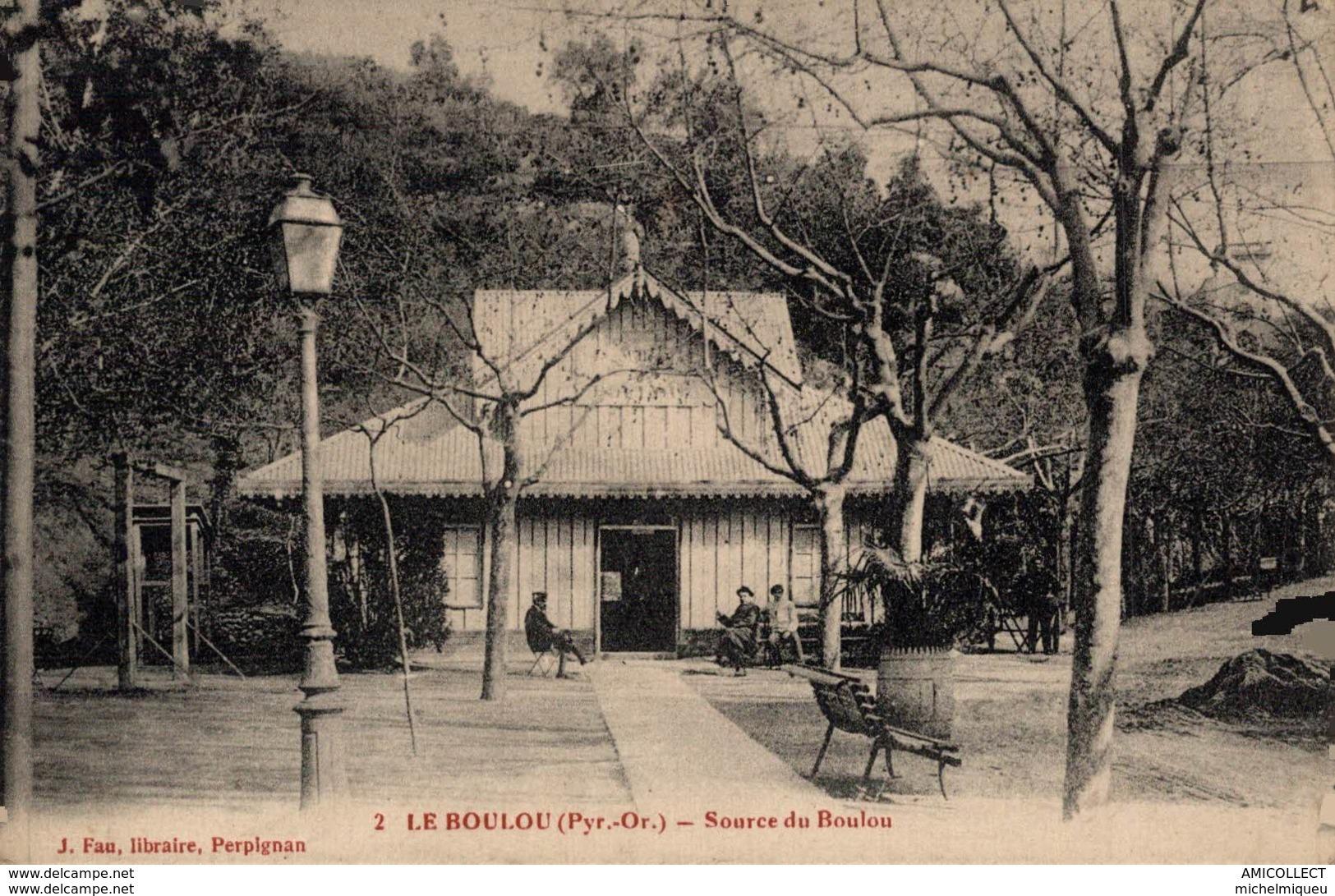3521-2019   LE BOULOU   SOURCE DU BOULOU - Altri Comuni