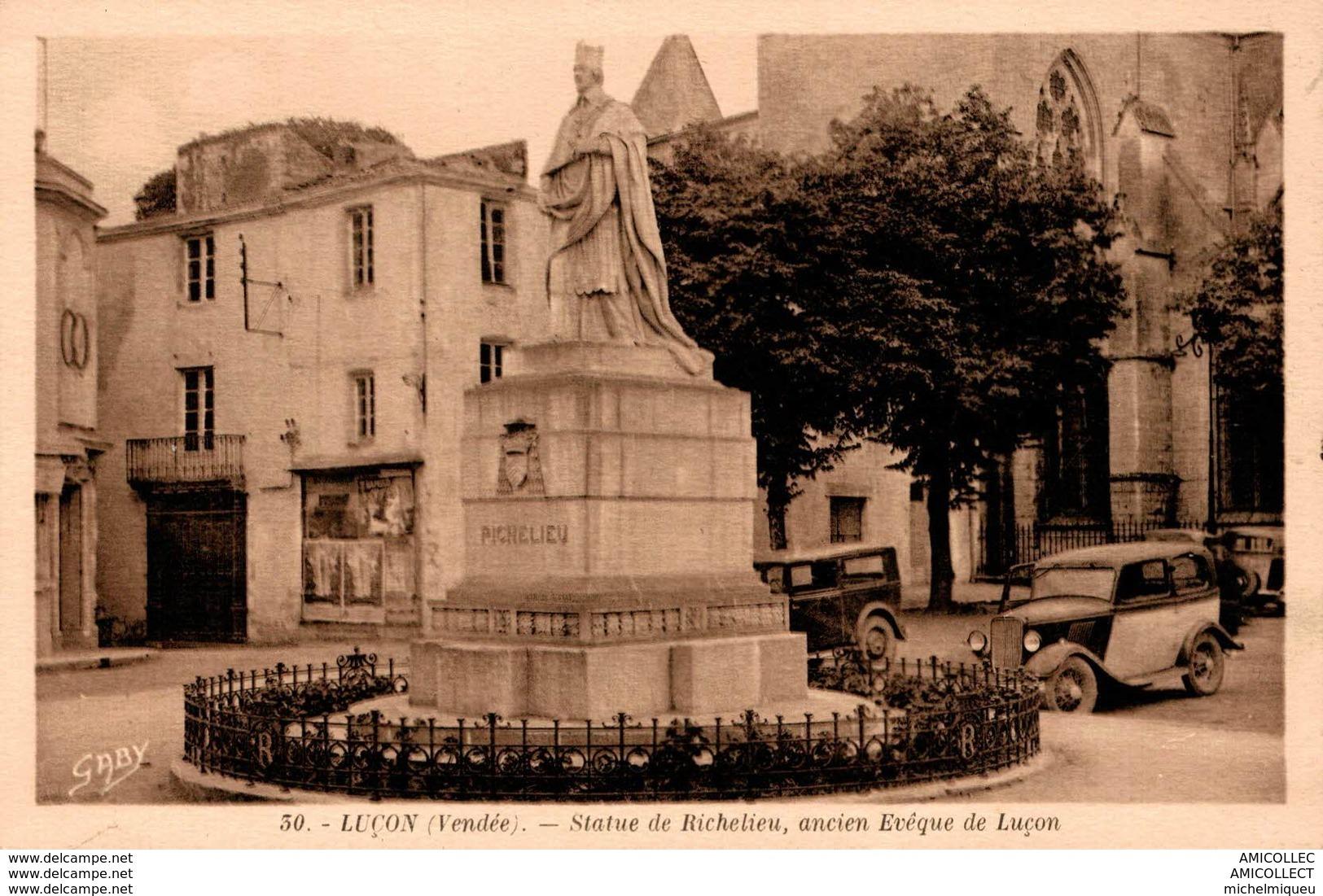 2214-2018 LUCON STATUE DE RICHELIEU - Lucon