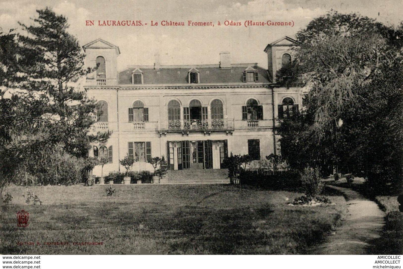 5811-2018      ODARS  LE CHATEAU FROMENT - Francia