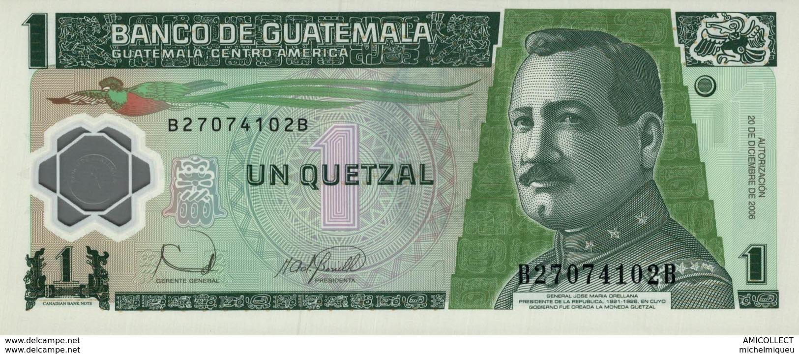 7313-2019    BILLET ETRANGER DE GUATEMALA - Guatemala